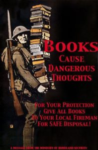 Fahrenheit 451 books cause thoughts