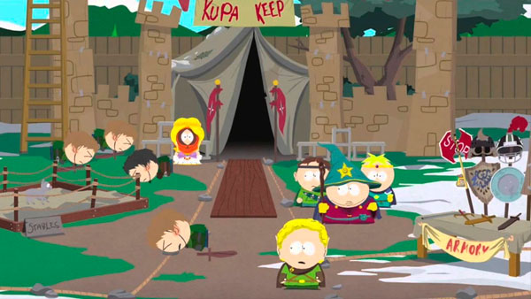 South park stick of truth pau da verdade Cartman kenny butters