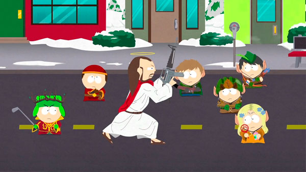 South park stick of truth pau da verdade cristo