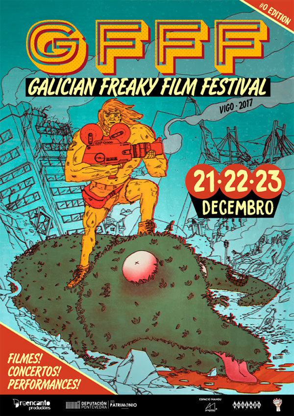 GFFF-Galician Freaky Film Fest Cartaz