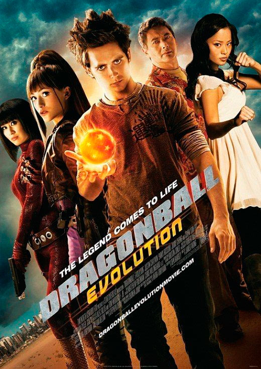 dragon ball evolution poster