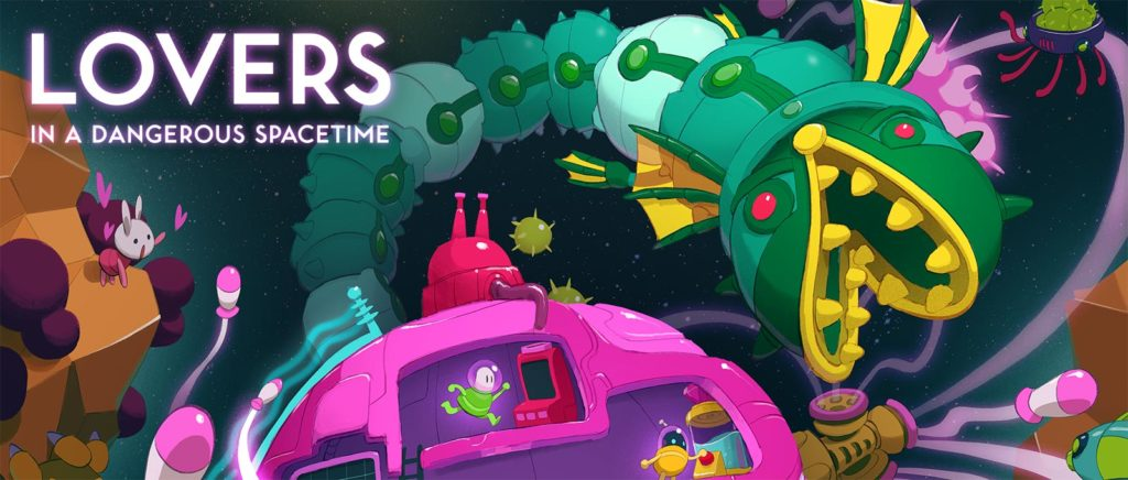 Lovers in a Dangerous Spacetime caratula