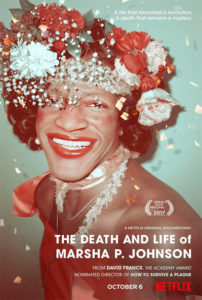 Death and Life of Marsha P. Johnson - Poster