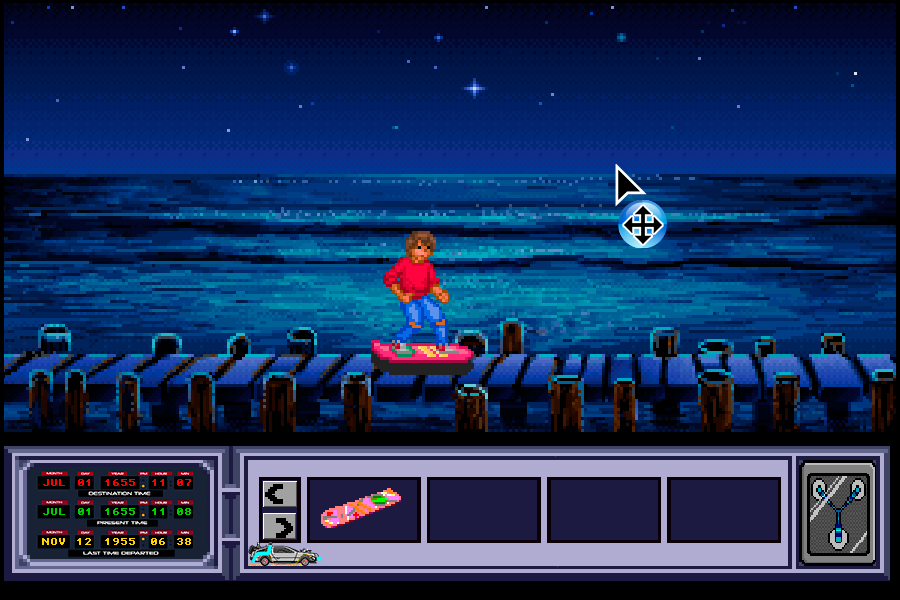 Back to the Future Part III: Timeline of Monkey Island - Hoverboard