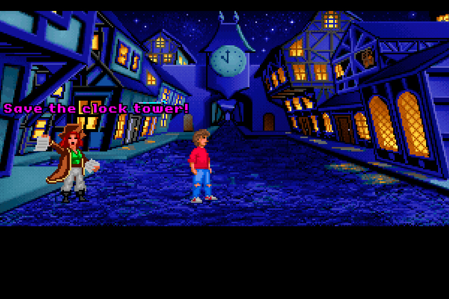Back to the Future Part III: Timeline of Monkey Island - Reloxo