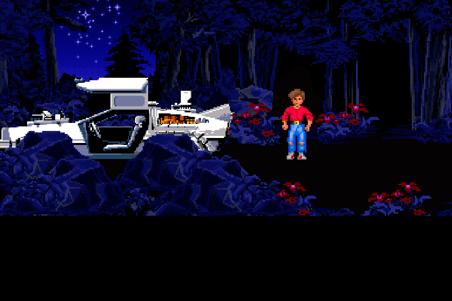 Back to the Future Part III: Timeline of Monkey Island - Bosque