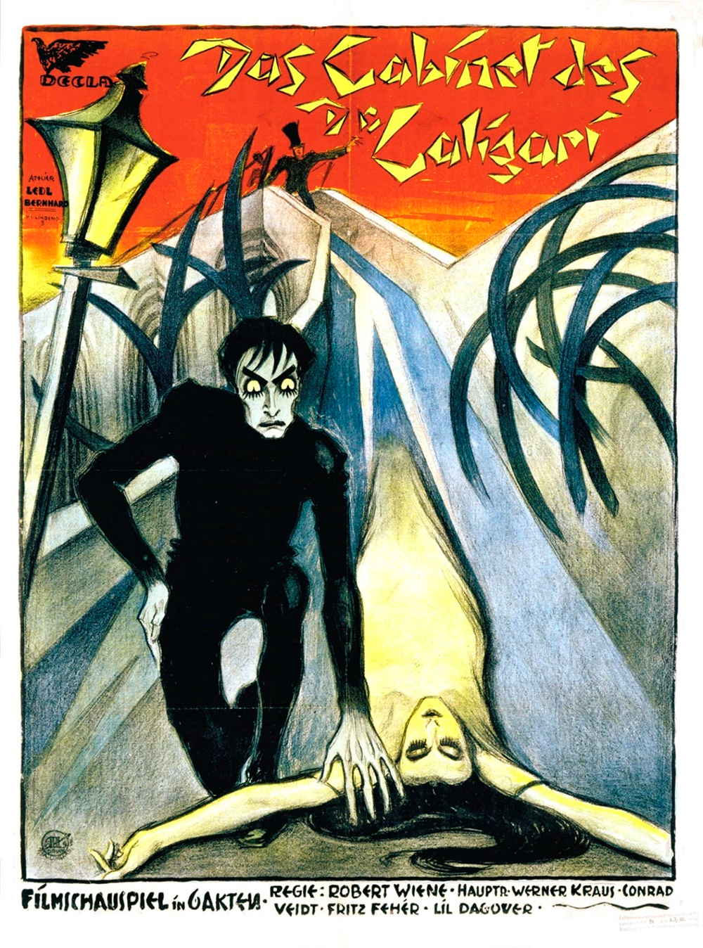 Cineuropa-O Gabinete do Dr Caligari (Das Cabinet des Dr Caligari)-Poster