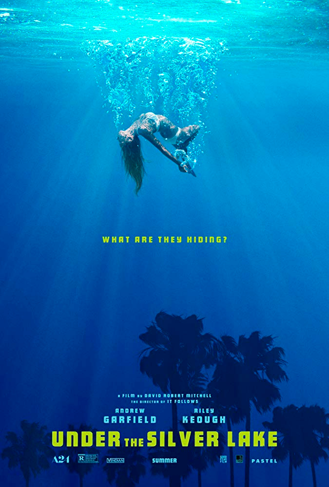 O Que Esconde Silver Lake - Poster